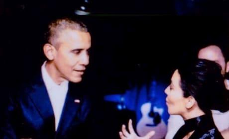 Obama and Kardashian