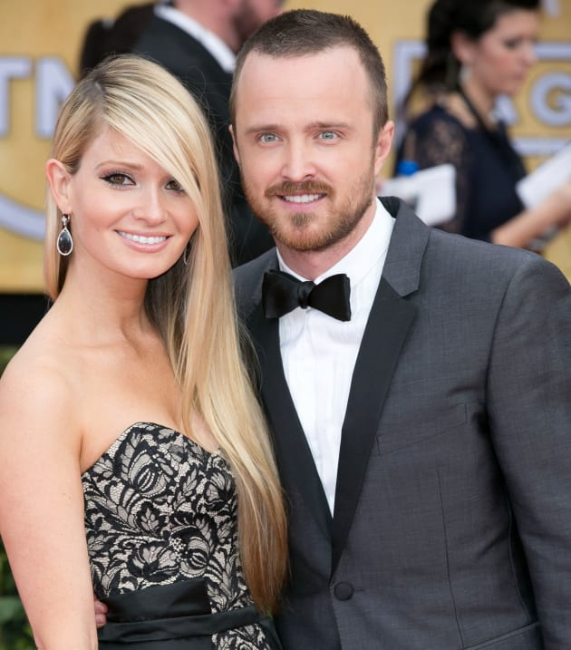 Aaron Paul Marries Lauren Parsekian The Hollywood Gossip