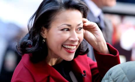 Ann Curry in NYC