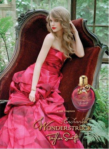 Taylor Swift Fragrance Ad