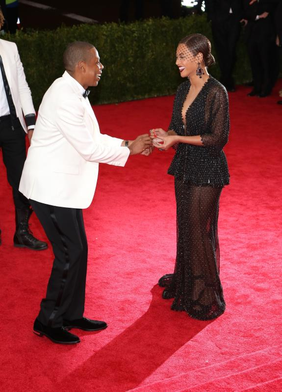Jay Z and Beyonce MET Gala Proposal