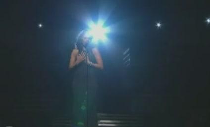 Jennifer Hudson Pays Tribute to Whitney Houston at Grammy Awards