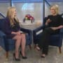 Nicole Eggert and Megyn Kelly