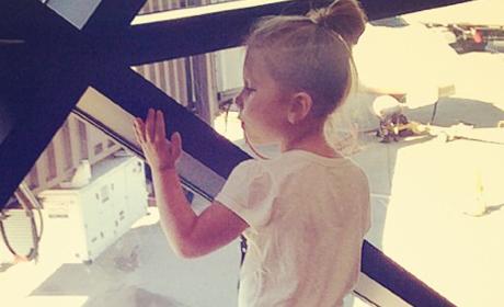 Chelsea Houska's Daughter Aubree
