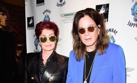 Sharon & Ozzy Osbourne Photo