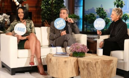 George Clooney and Rihanna: Never Have They Ever... WHAT?