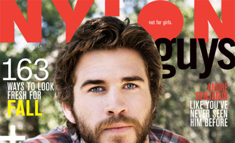 Liam Hemsworth for NYLON Guys