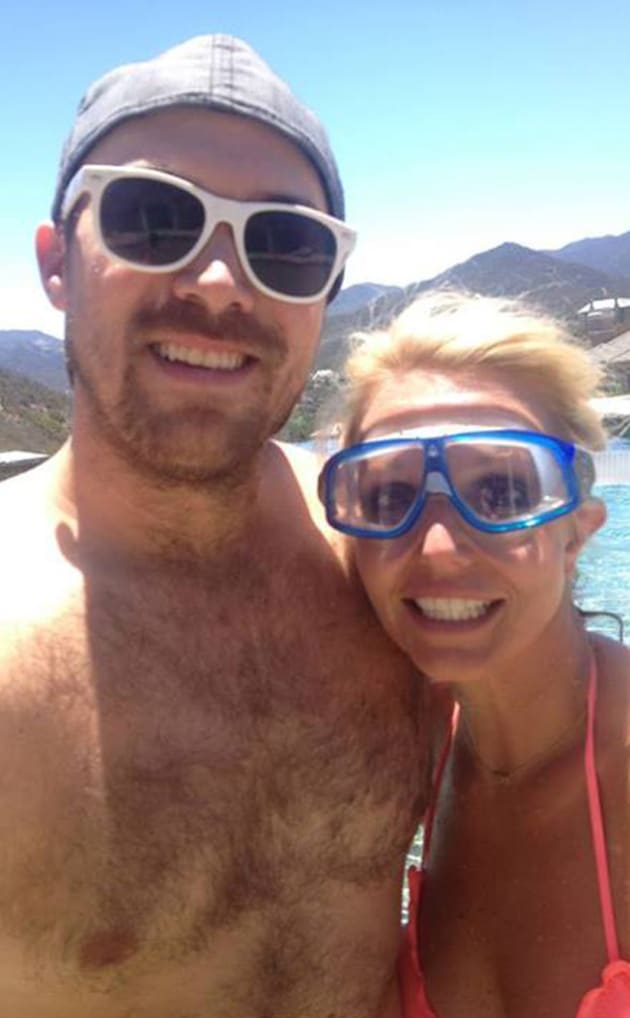 David Lucado with Britney Spears