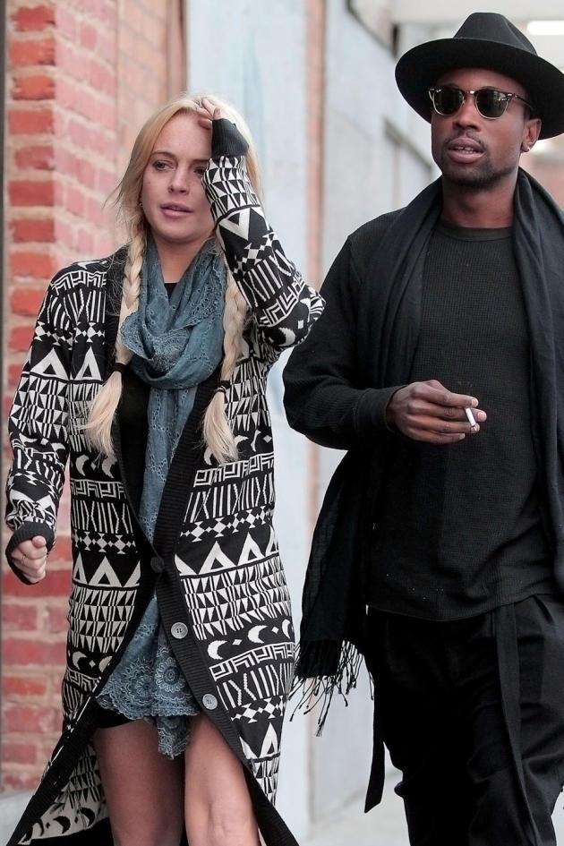 Lindsay Lohan and a 'Friend'