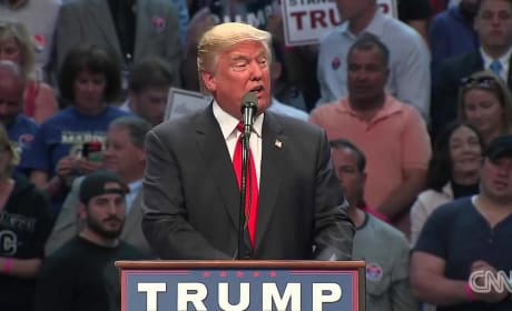 "Donald Trump Refers to 9/11 as ""7/11"" at Rally in New York"