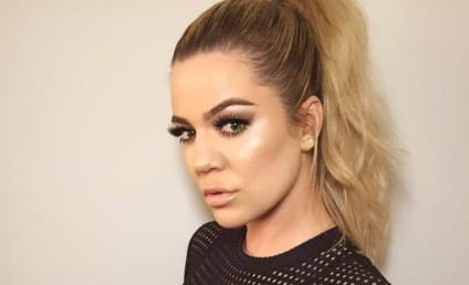 Khloe Kardashian Shows Off Her Body (and Her HUGE Lips)!