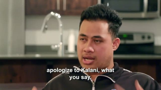 Asuelu pulaa apologize to kalani for what you said