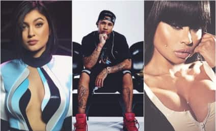 Kylie Jenner: Only Keeping Tyga Around to Shade, Spite Blac Chyna?