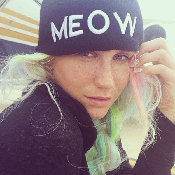 Kesha, No Makeup