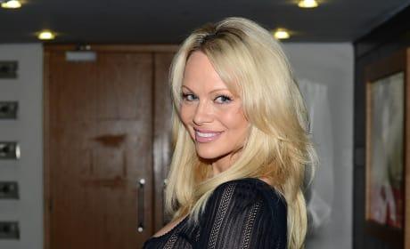 Pamela Anderson in Ireland