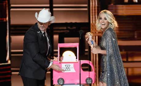 Carrie and Brad