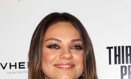 Mila Kunis Close-Up