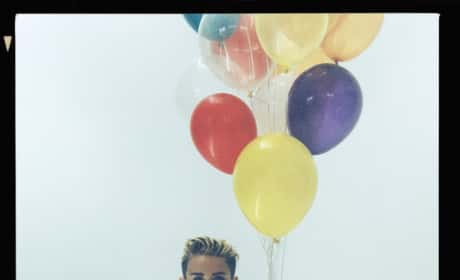 Miley Cyrus with Balloons
