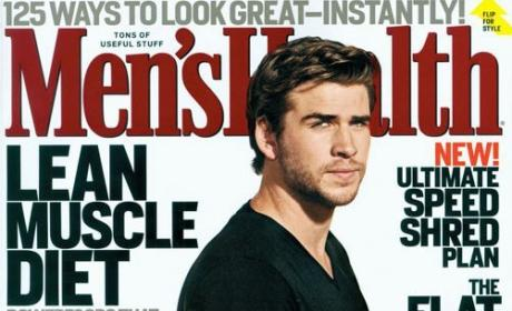 Liam Hemsworth Men's Health Cover