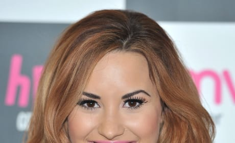 Demi Lovato with Red Hair