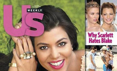 Kourtney Kardashian Pregnant Cover