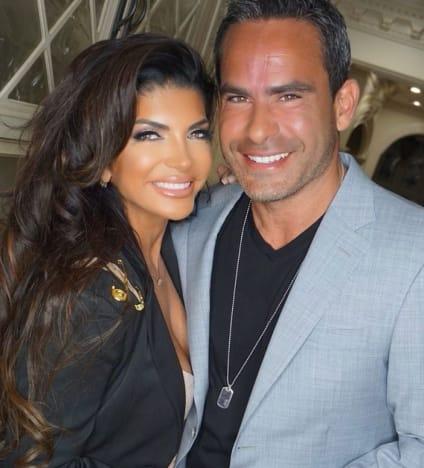 Luis Ruelas con Teresa
