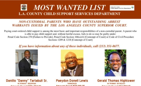 Danny Tartabull Wanted Poster