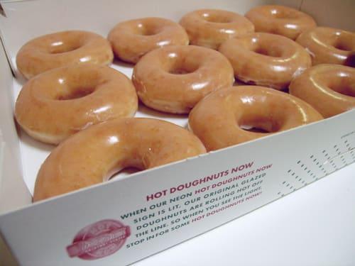 Glazed, Krispy Kreme