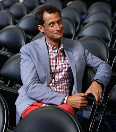 Anthony Weiner Smirks