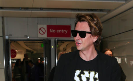 Jonathan Cheban Lands In England Ahead of 'CBB' Appearance