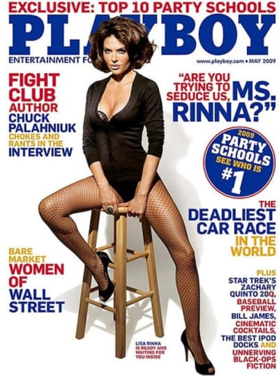 Consider, that lisa rinna naked