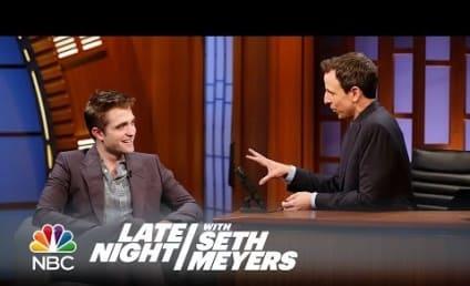 Robert Pattinson on Late Night: Just Call Me Big Tub!