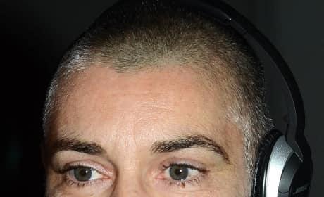 Sinead O'Connor Cheek Tattoos