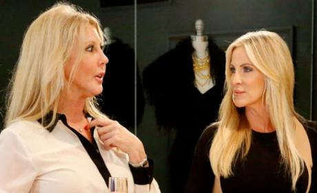 Vicki Gunvalson and Lauri Peterson: The Real Housewives of Orange County