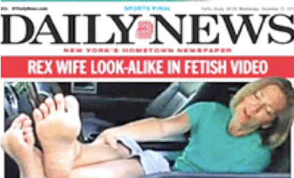 Rex Ryan's Wife Michelle: Foot Fetish Video Star?