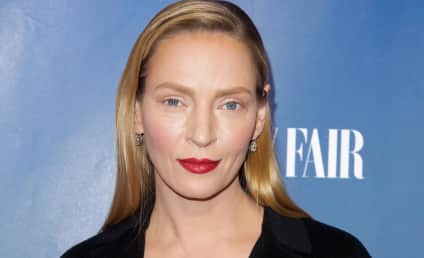 Uma Thurman on Plastic Surgery Rumors: I Guess My Makeup Sucked!