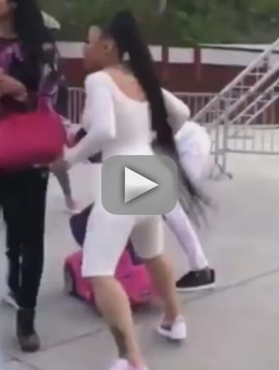 Blac chyna speaks out about her fight video i dont condone viole