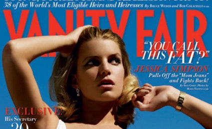 Jessica Simpson Featured in Vanity Fair For Some Reason