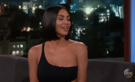 Kim Kardashian: I Was Naked When I Talked to Trump!