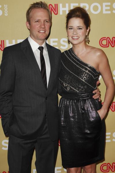 Jenna Fischer and Lee Kirk