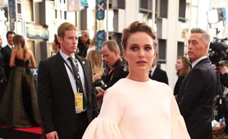 Natalie Portman at the 2017 SAG Awards