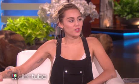 Miley Cyrus Talks Engagement Ring