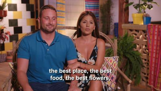 Evelin Villegas - le meilleur endroit, la meilleure nourriture, les meilleures fleurs