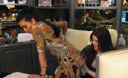 Kardashians Slap Each Other on the Butt. A Lot.