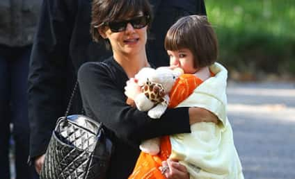 Happy Halloween From Suri Cruise!