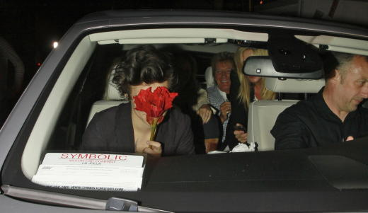 Harry Styles Hiding