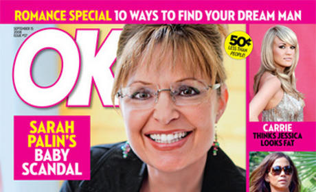 Barack Obama or Sarah Palin: Which OK! Cover is Best?