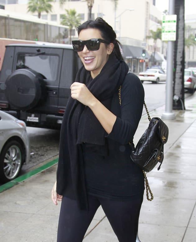 Kim Kardashian Laughing
