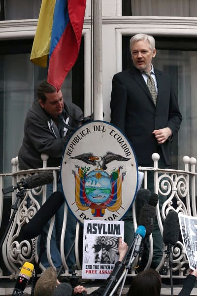 Julian Assange Photo