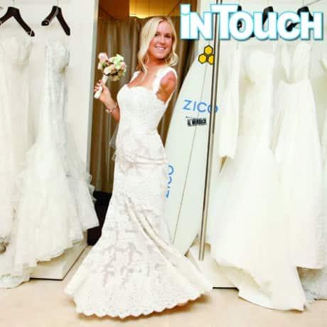 "Bethany Hamilton's ""Laid-Back"" Wedding Gown"